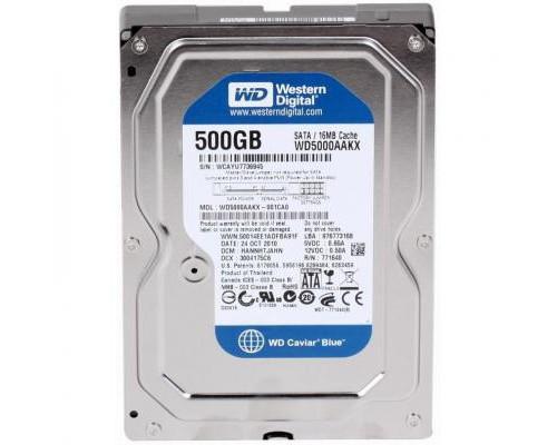 """Жорсткий диск 3.5""""  500Gb WD (WD5000AAKX)"""