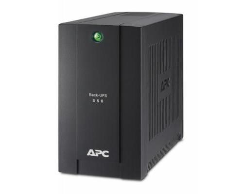 Пристрій безперебійного живлення APC Back-UPS 650VA, Schuko (BC650-RSX761)