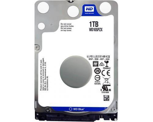 """Жорсткий диск для ноутбука 2.5"""" 1TB WD (WD10SPZX)"""