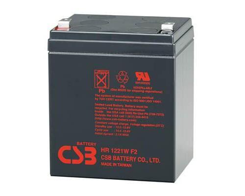 Батарея до ДБЖ 12В 5 Ач CSB (HR1221W F2)